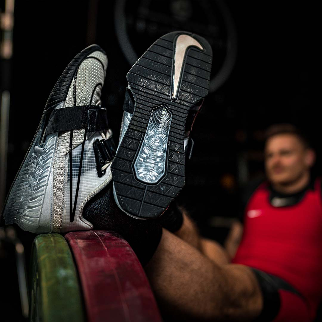 Kniebeugen Schuhe
