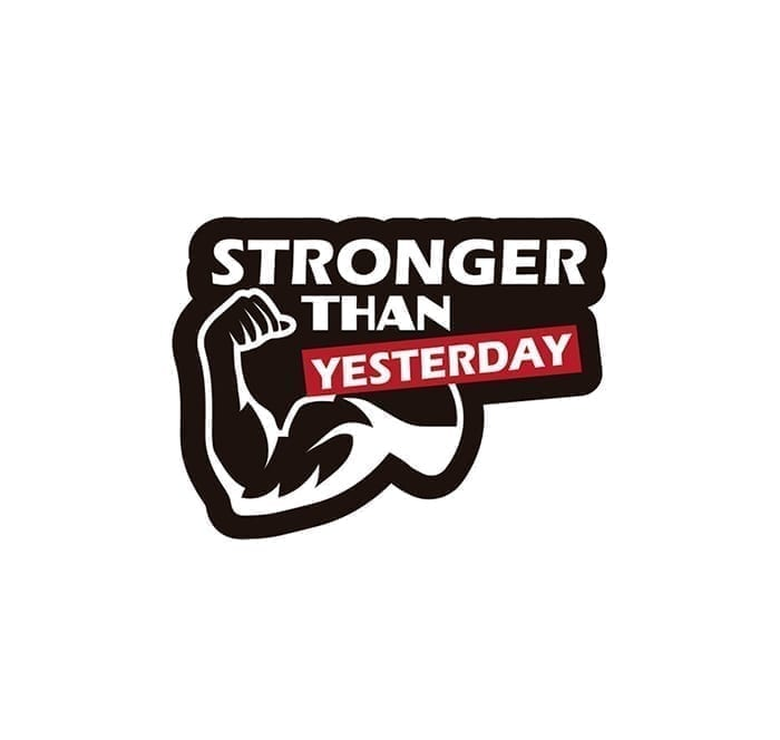 "PICSIL""StrongerThanYesterday"" Patch"