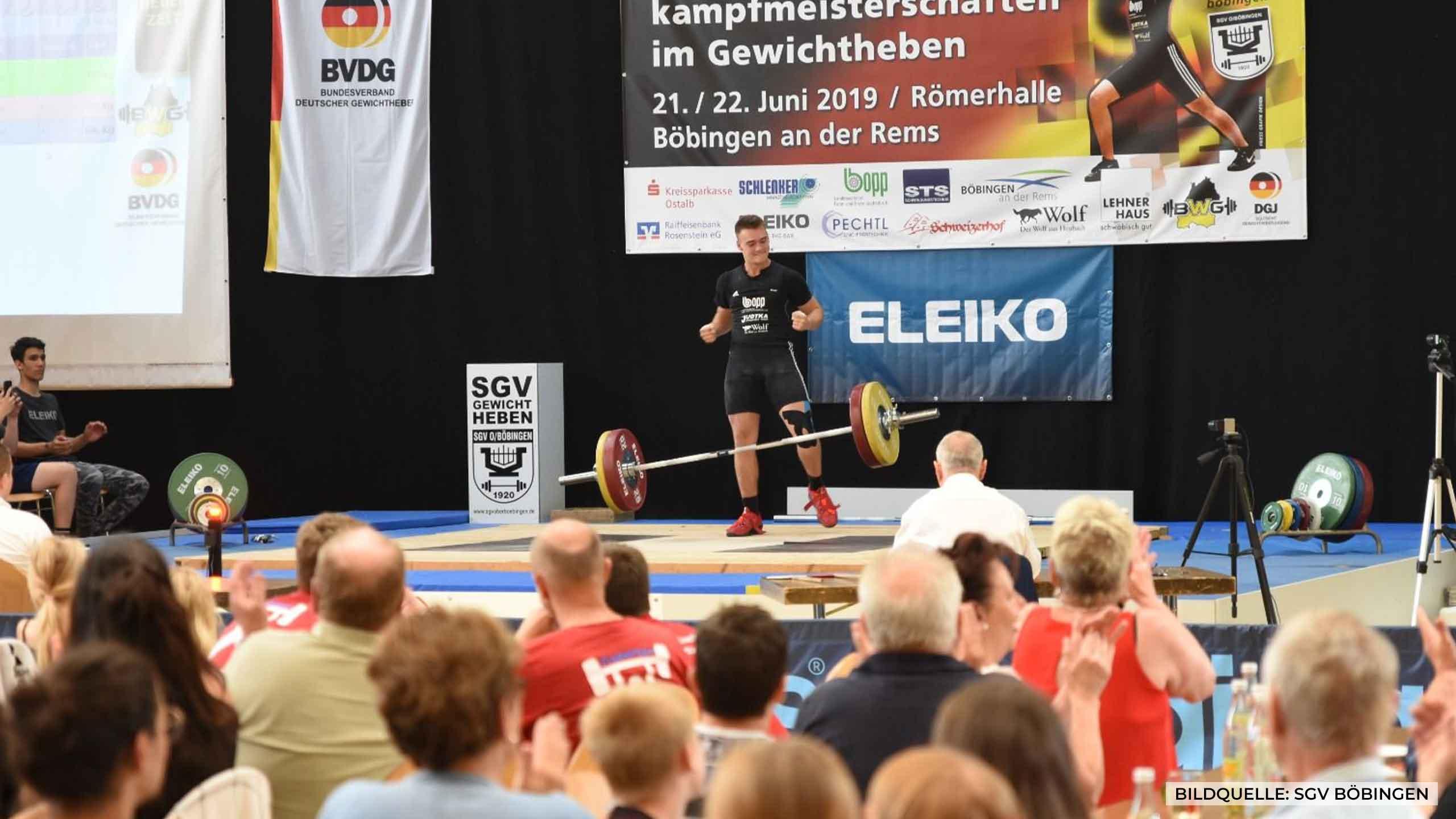 Deutsche Meisterschaft im Gewichtheben
