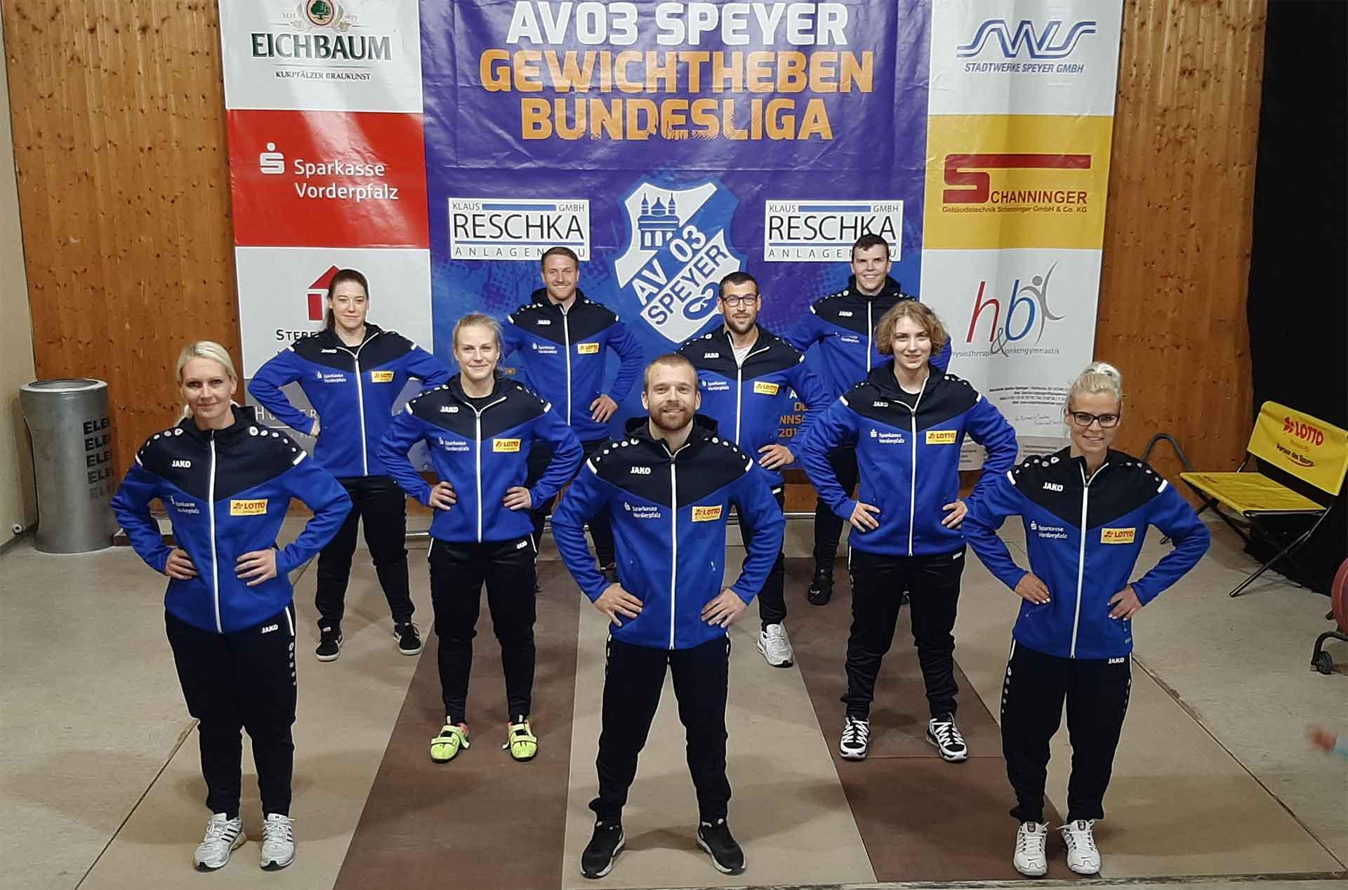 AV 03 Speyer Bundesliga Gewichtheben 2020