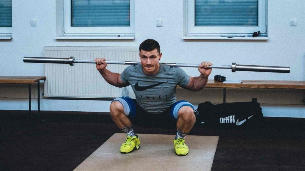 Anfänger im Gewichtheben