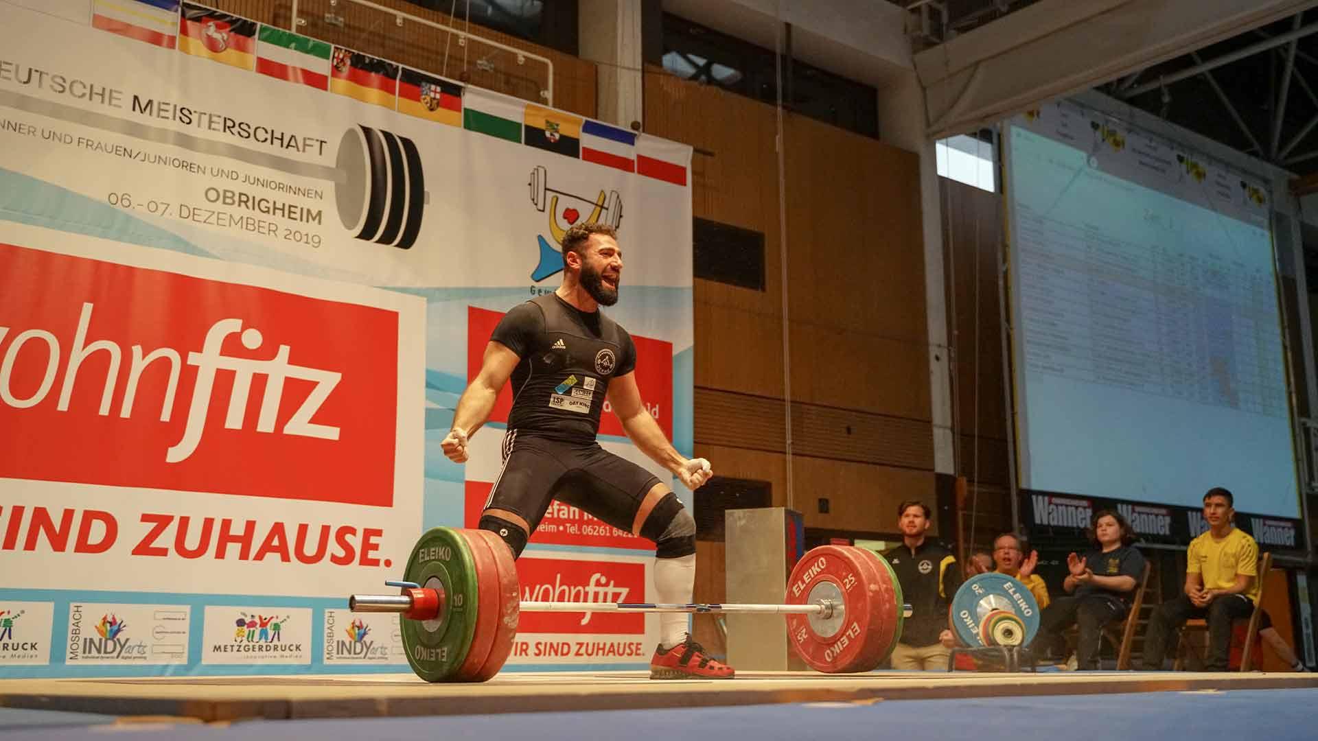 Deutsche Meisterschaft Gewichtheben 2020