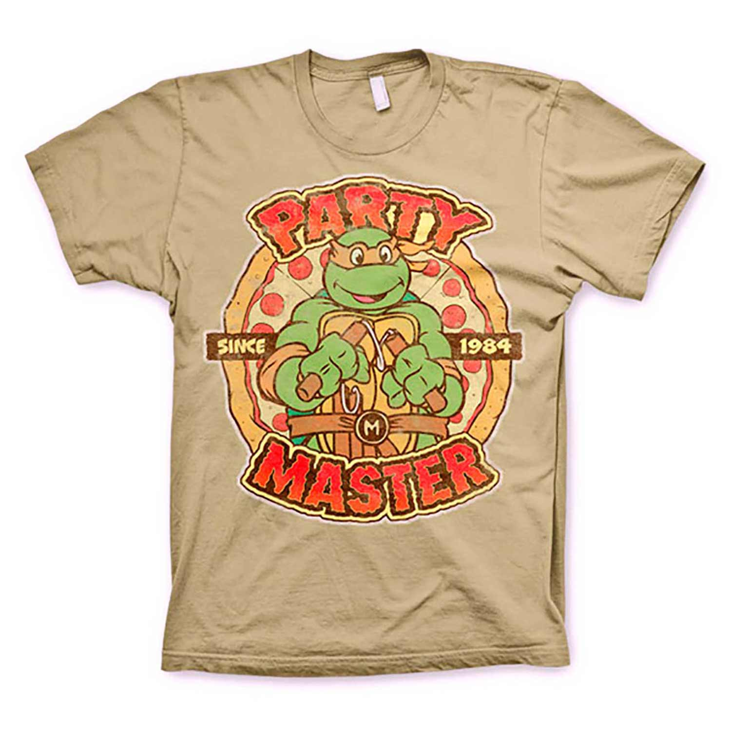 MASKED TURTLES PARTYHerren-Shirt