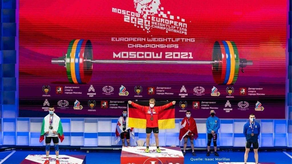 Max Lang Europameister Gewichtheben