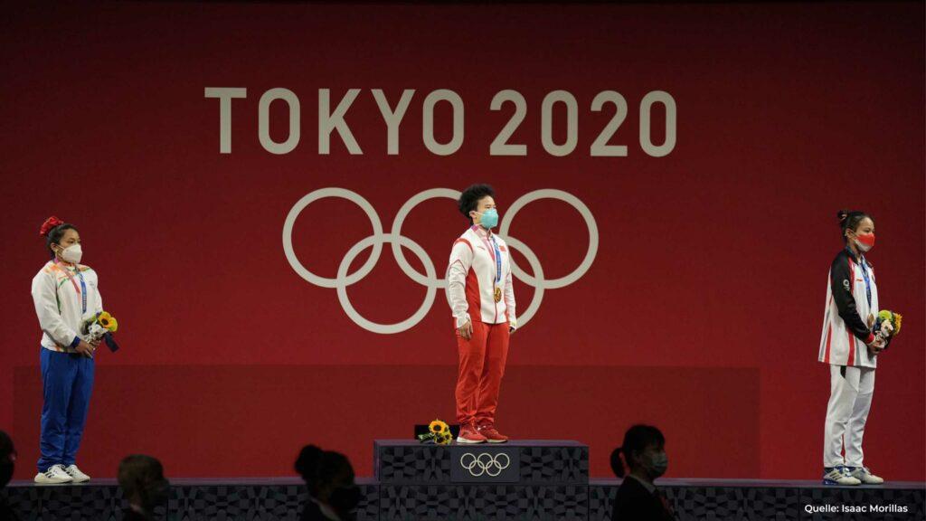 Olympische Spiele 2021 Gewichtheben Gewichtsklasse bis 49 kg