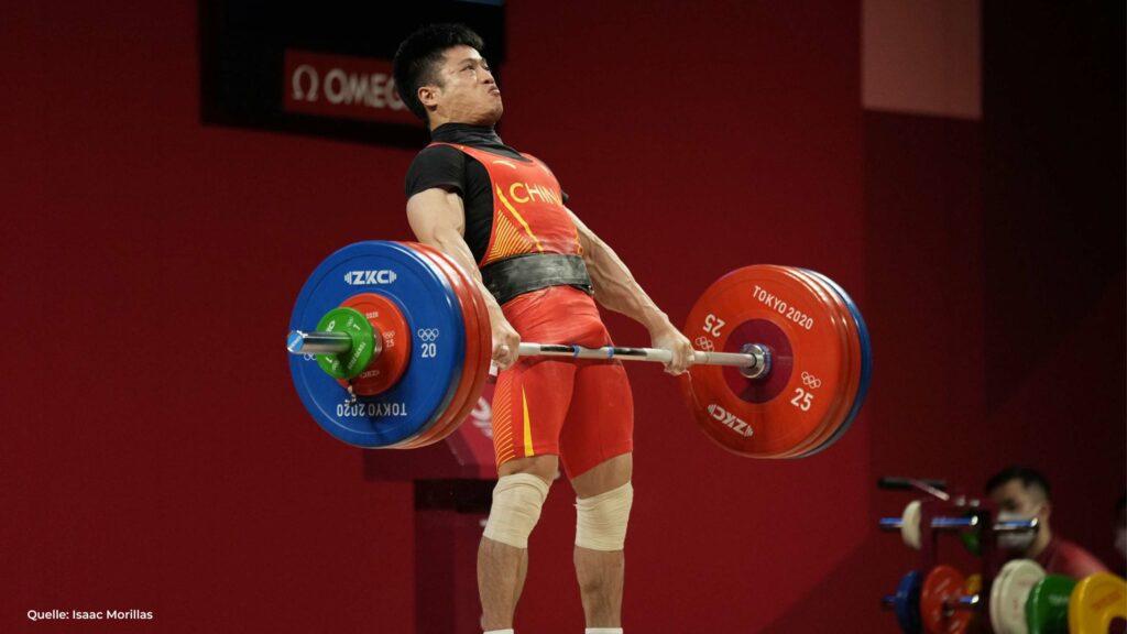Olympiasieger LI FABIN Gewichtsklasse -61 kg